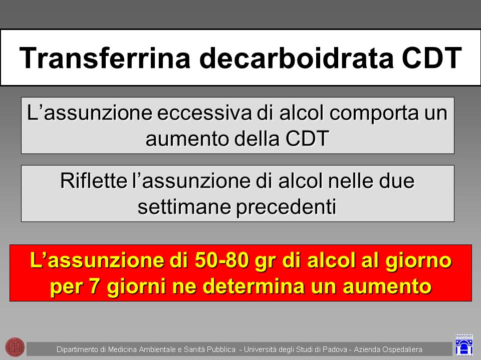 Transferrina decarboidrata CDT