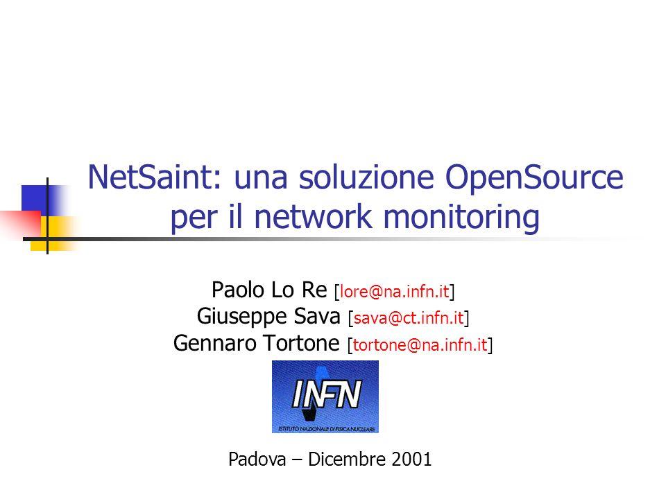 NetSaint: una soluzione OpenSource per il network monitoring