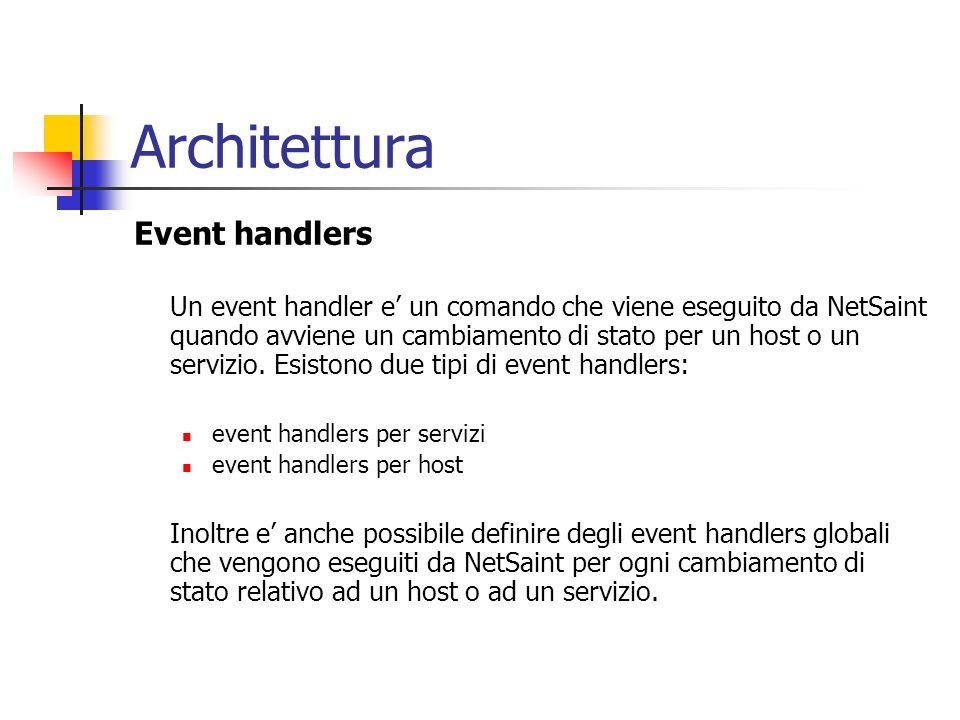 Architettura Event handlers