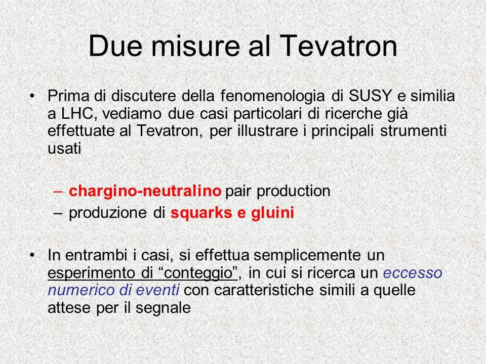Due misure al Tevatron