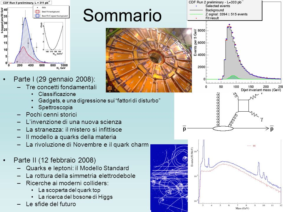 Sommario Parte I (29 gennaio 2008): Parte II (12 febbraio 2008)