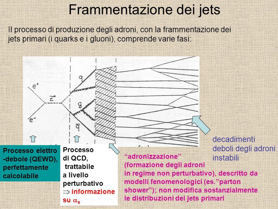 Frammentazione dei jets