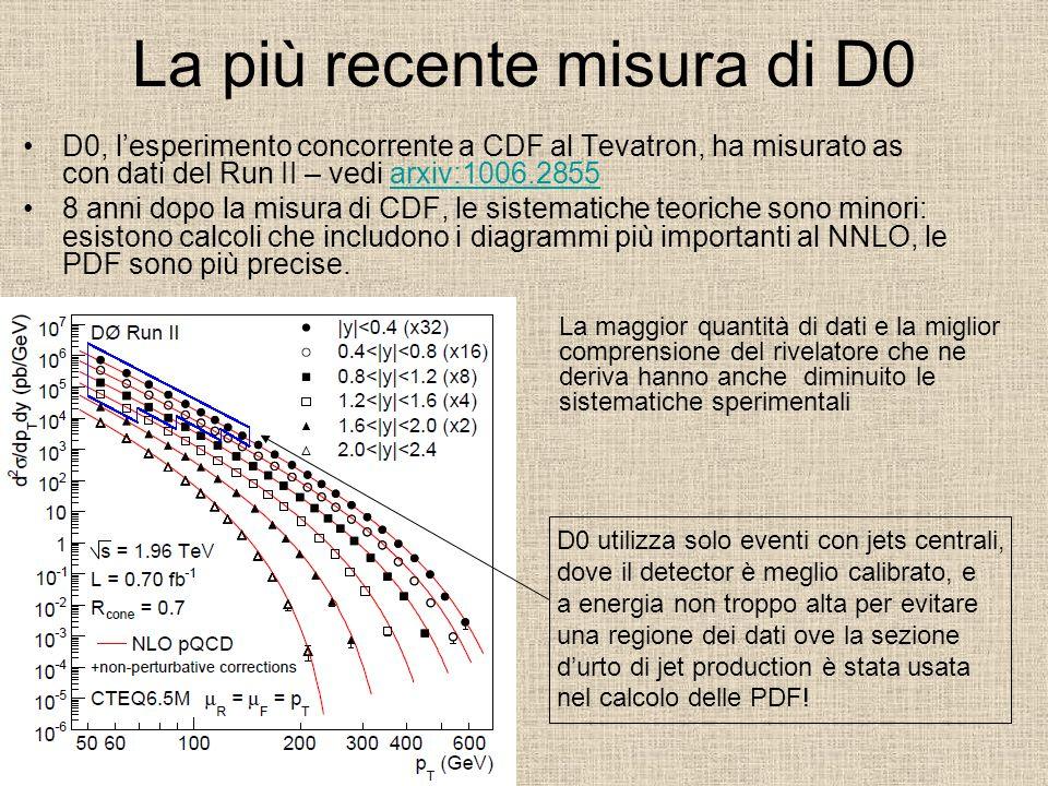 La più recente misura di D0