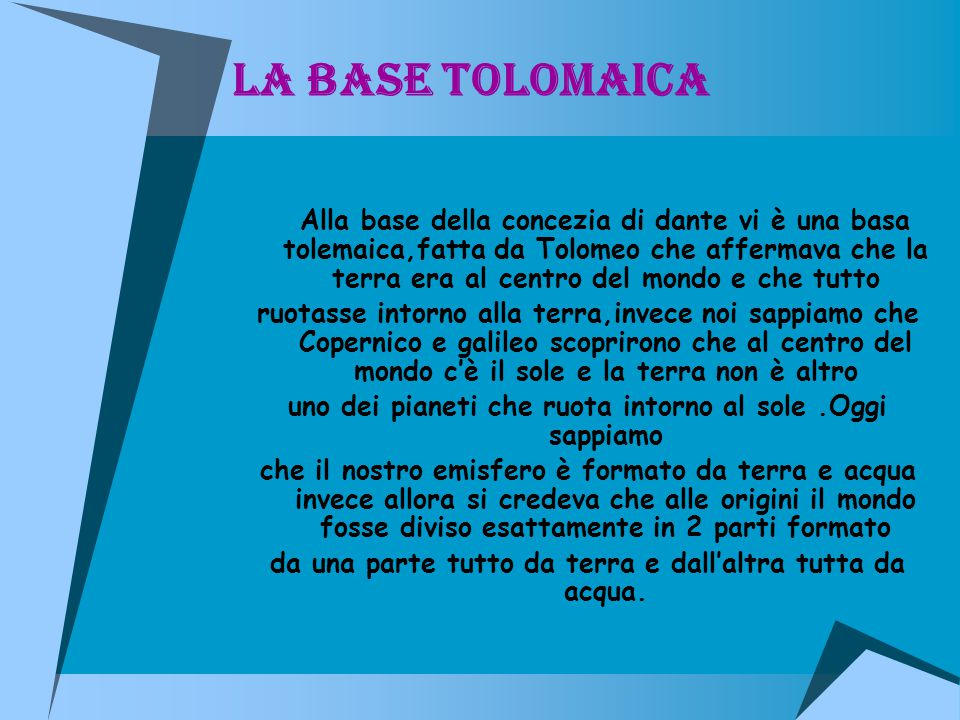 La base tolomaica