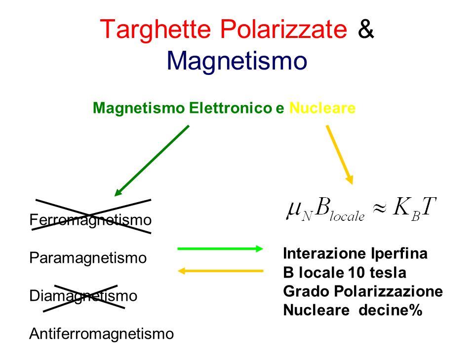 Targhette Polarizzate & Magnetismo