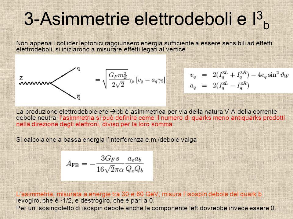 3-Asimmetrie elettrodeboli e I3b