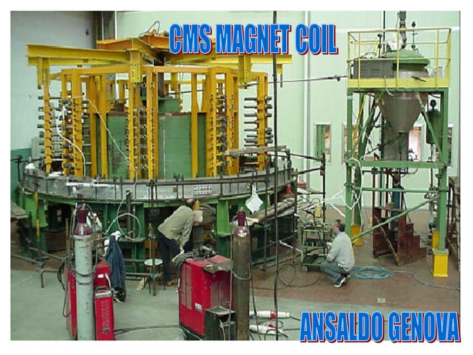 CMS MAGNET COIL CMS-coil ANSALDO GENOVA ROMA