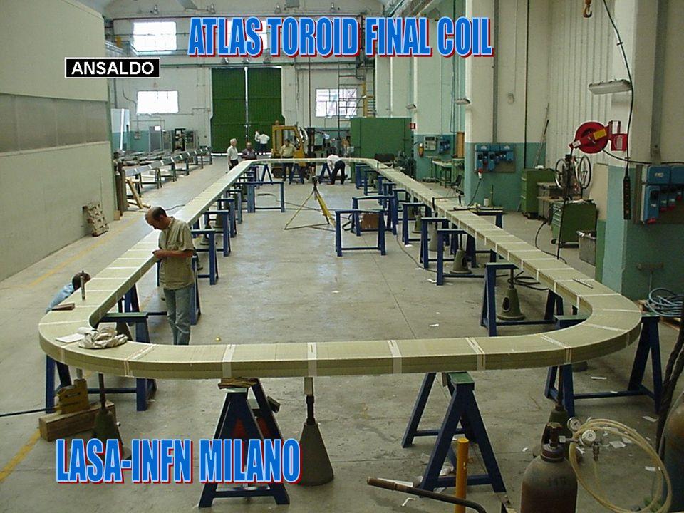 ATLAS TOROID FINAL COIL