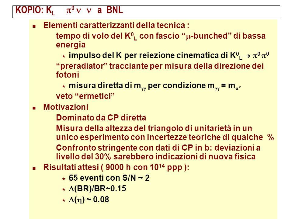 KOPIO: KL® p0 n`n a BNL Elementi caratterizzanti della tecnica :