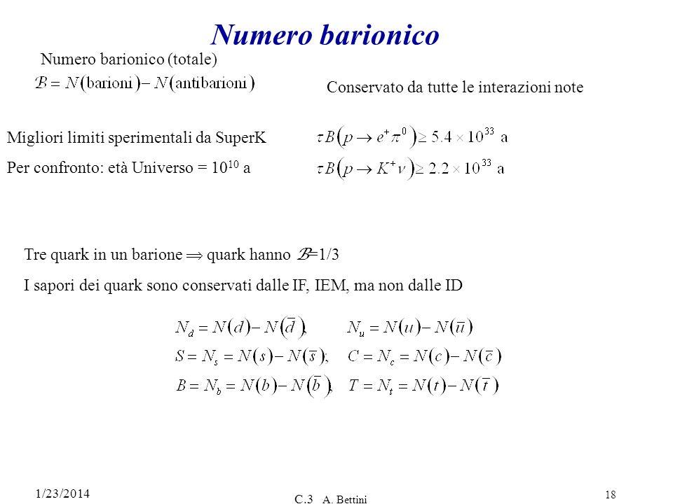 Numero barionico Numero barionico (totale)