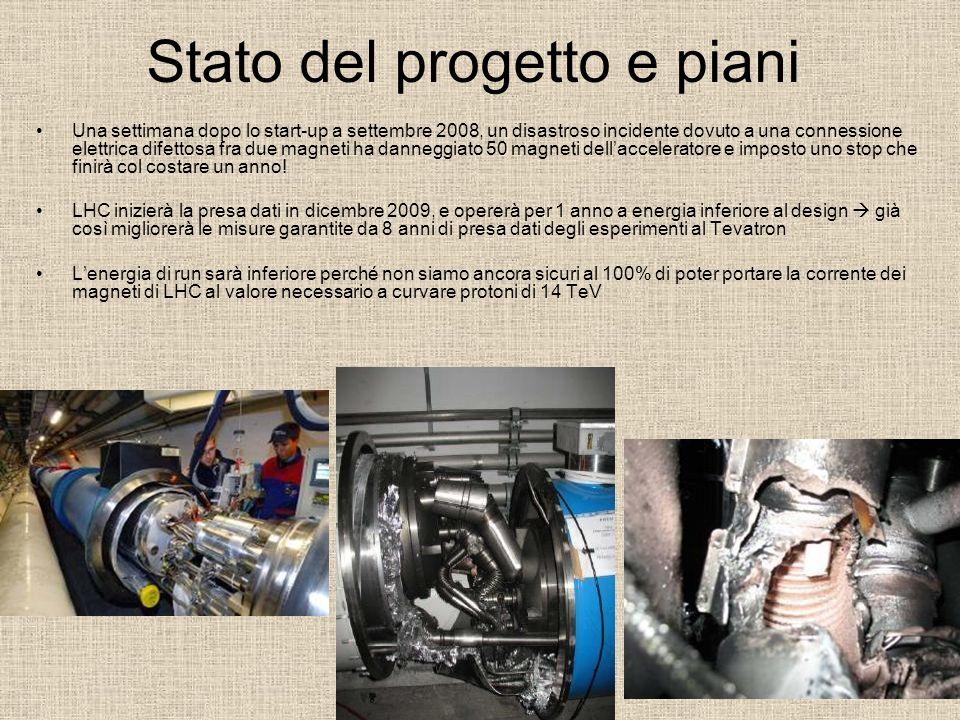 Stato del progetto e piani