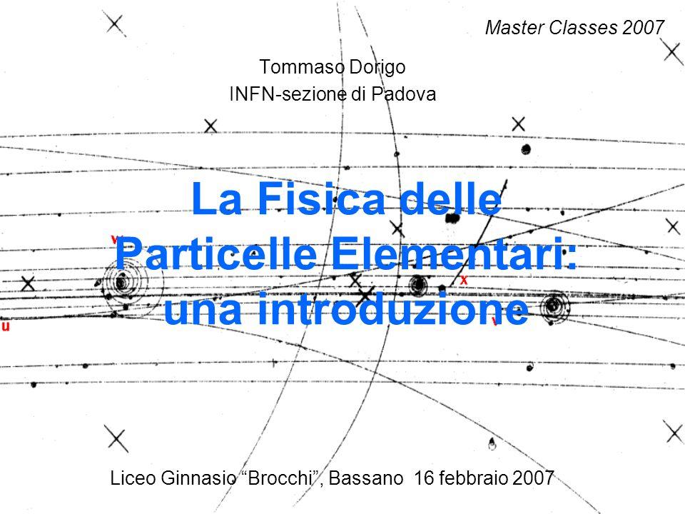 La Fisica delle Particelle Elementari: una introduzione