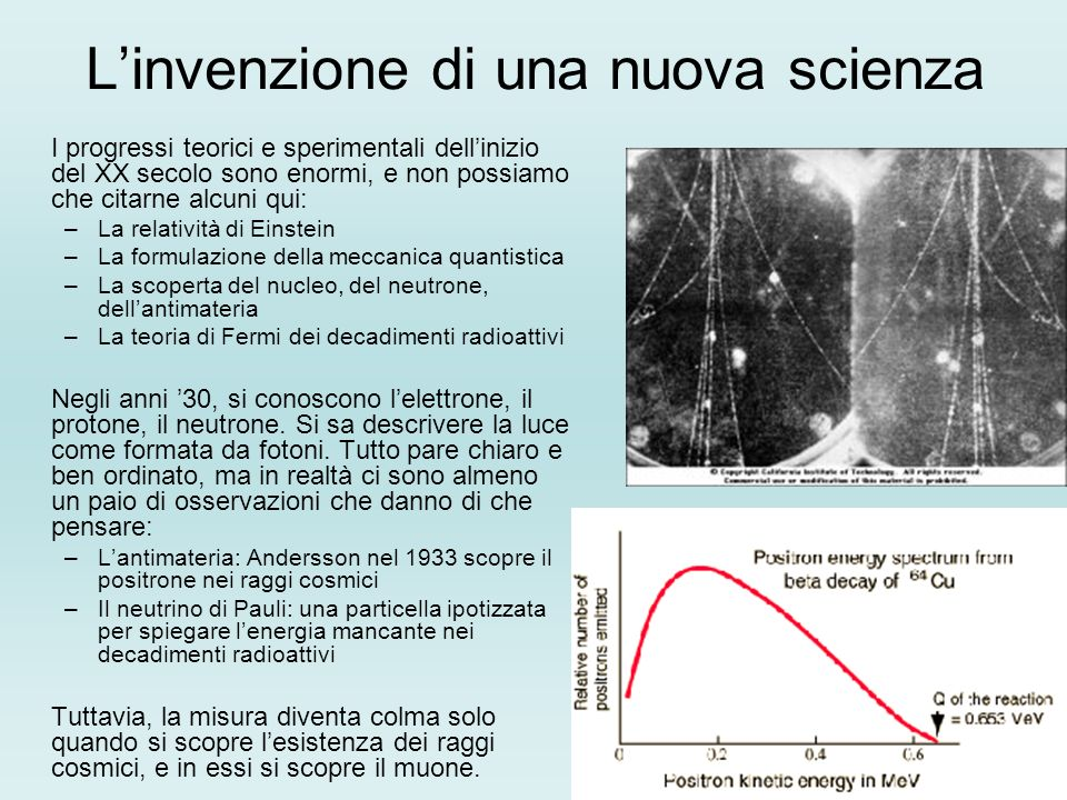 L'invenzione di una nuova scienza