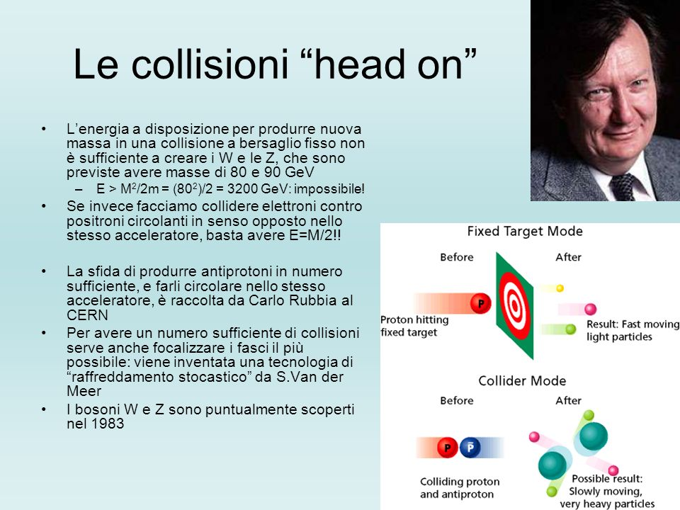 Le collisioni head on