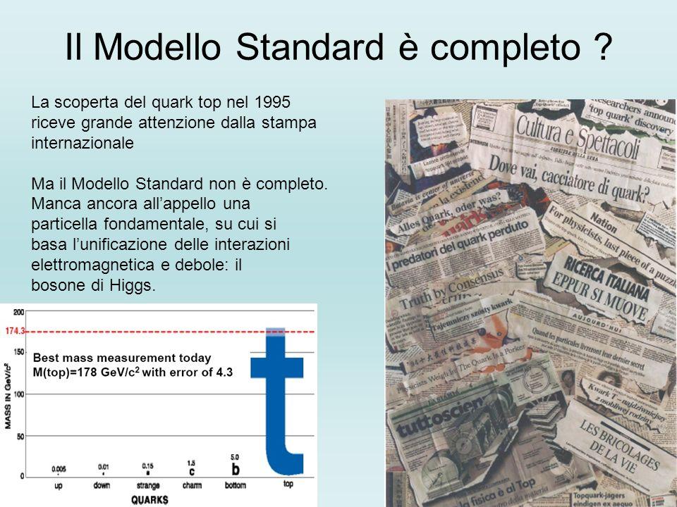 Il Modello Standard è completo
