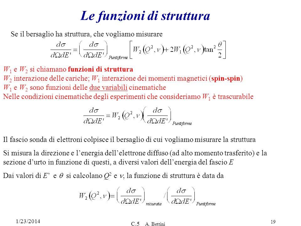 Le funzioni di struttura