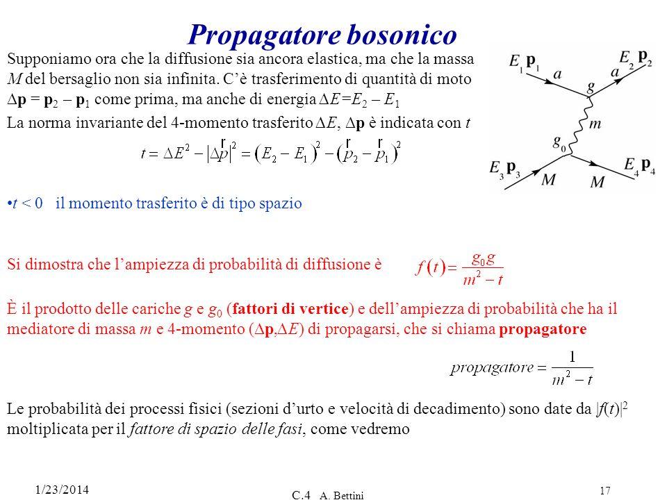 Propagatore bosonico