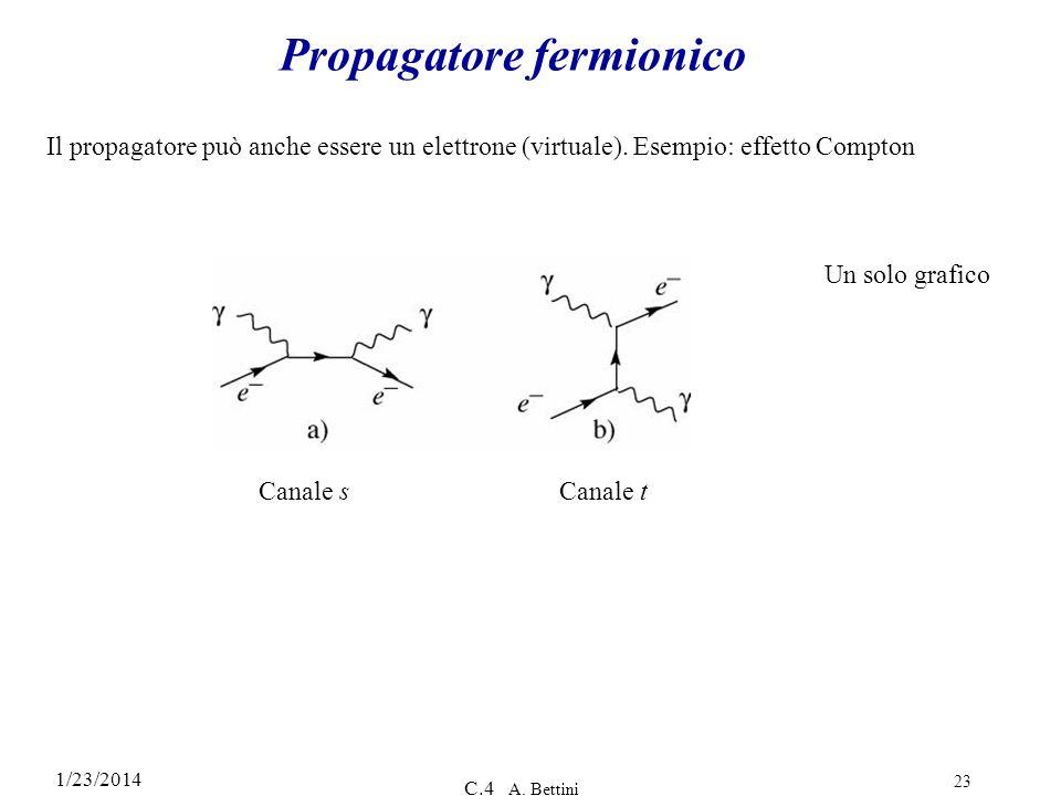 Propagatore fermionico