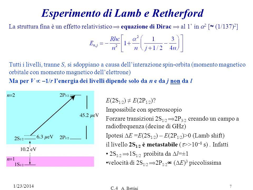 Esperimento di Lamb e Retherford