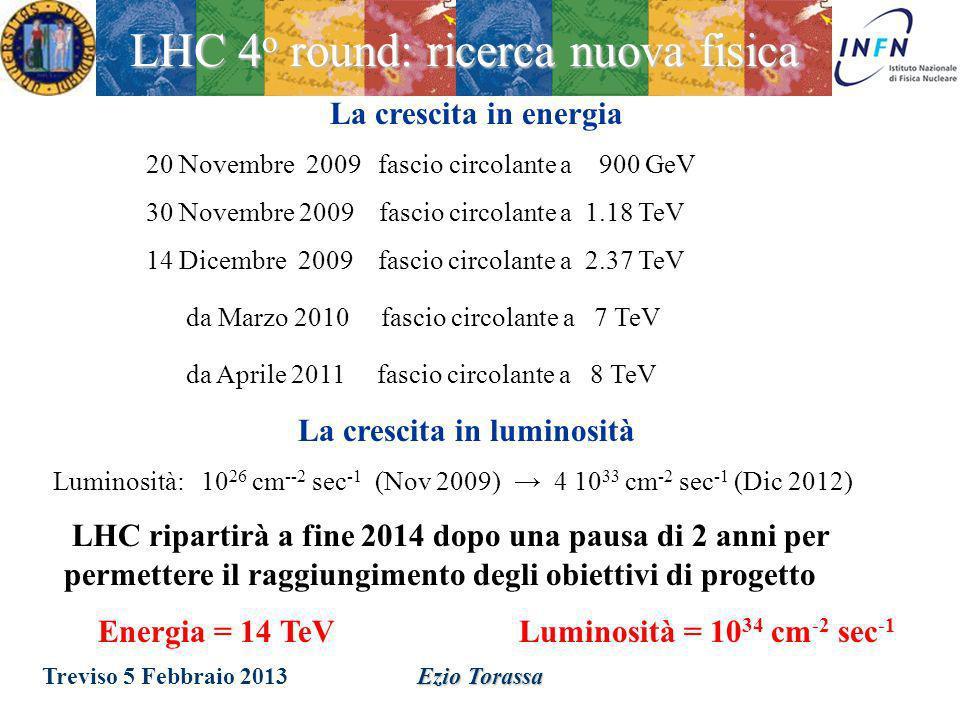 LHC 4o round: ricerca nuova fisica