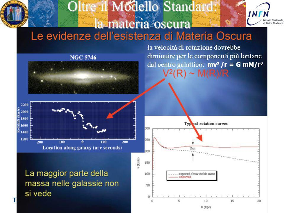 Oltre il Modello Standard: la materia oscura