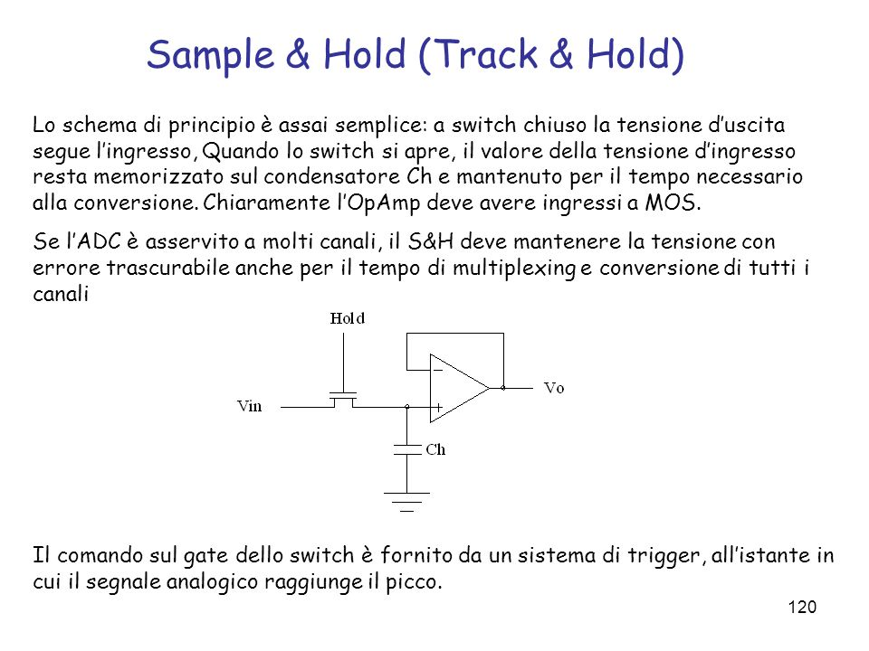 Sample & Hold (Track & Hold)