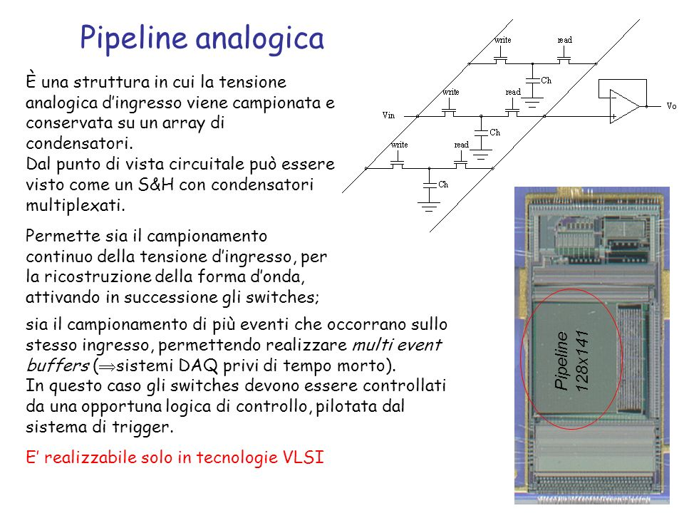 Pipeline analogica