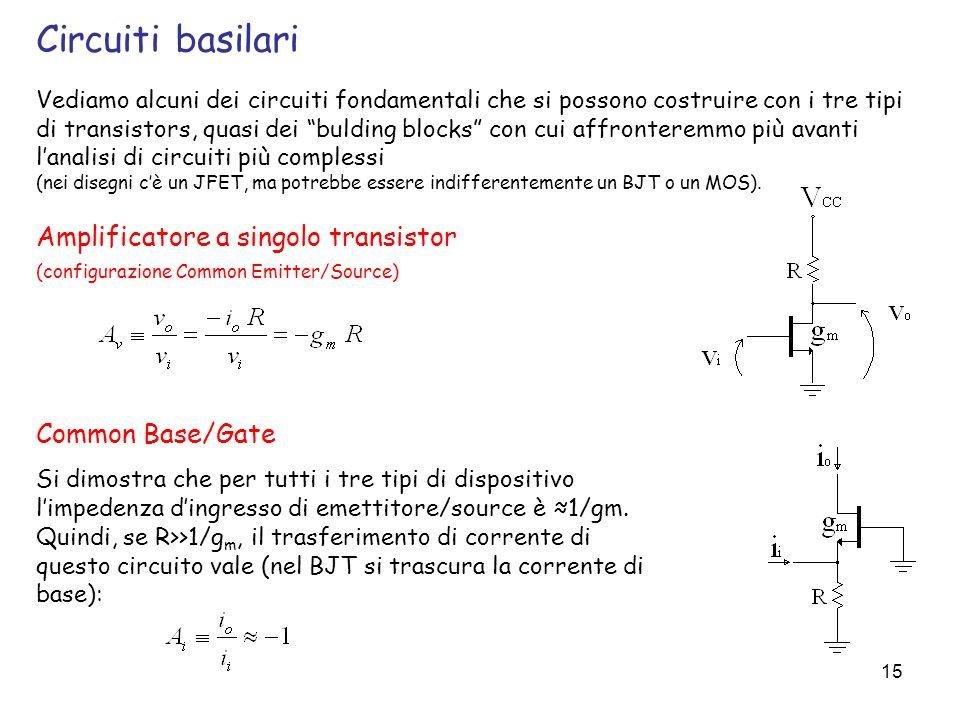 Circuiti basilari