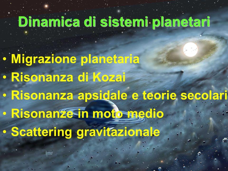 Dinamica di sistemi planetari