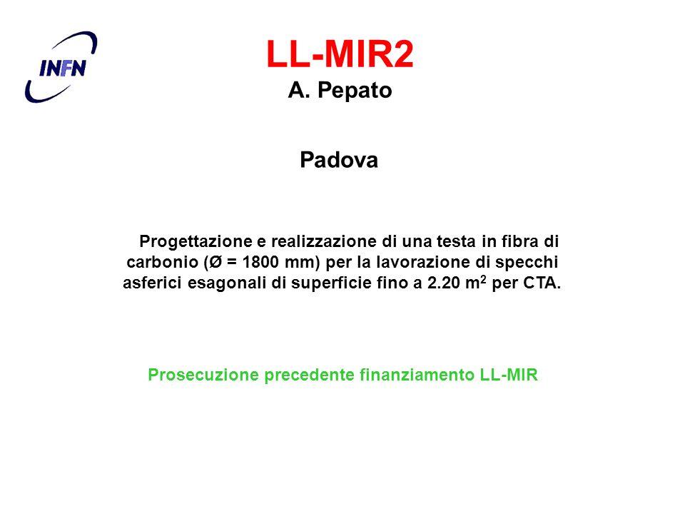 Prosecuzione precedente finanziamento LL-MIR