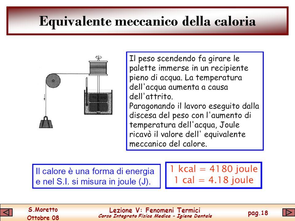 Equivalente meccanico della caloria
