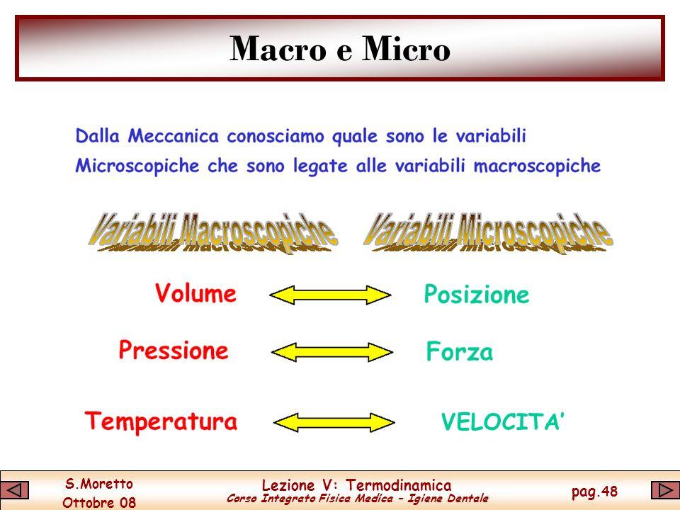 Macro e Micro VELOCITA'