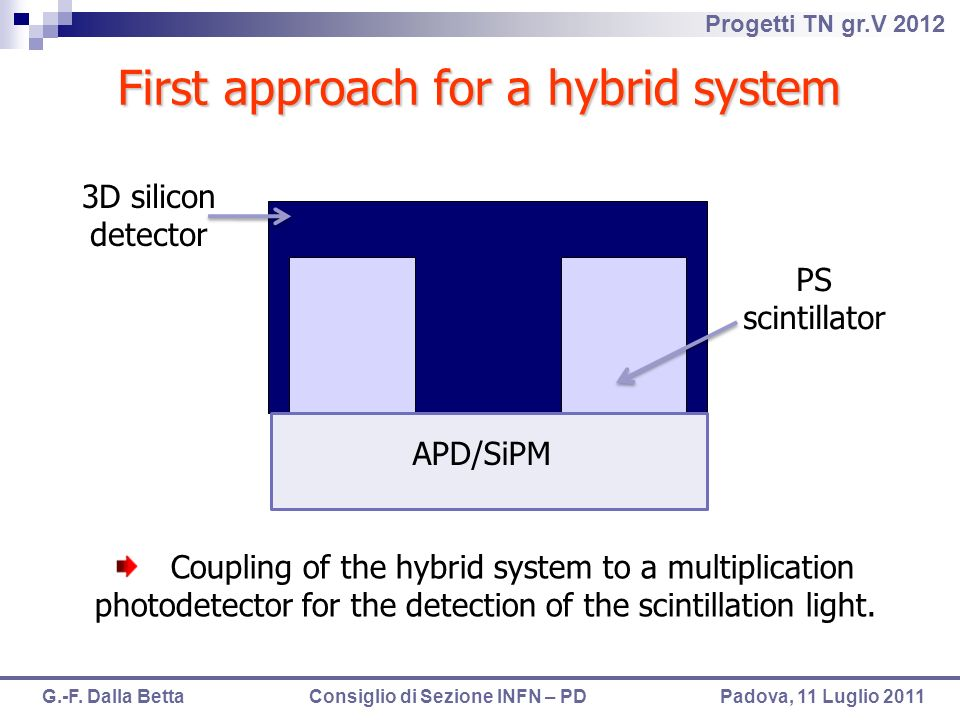 First approach for a hybrid system