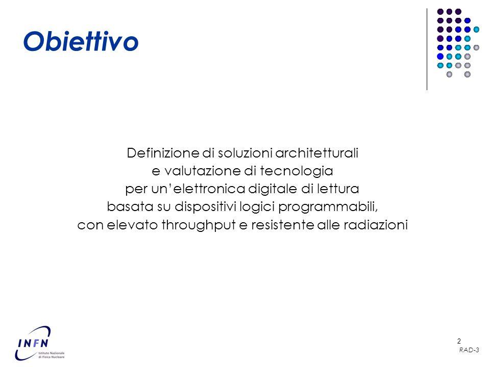 Obiettivo Definizione di soluzioni architetturali