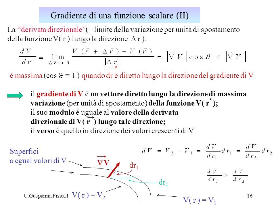 Gradiente di una funzione scalare (II)