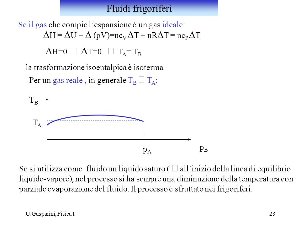 DH = DU + D (pV)=ncV DT + nRDT = ncP DT