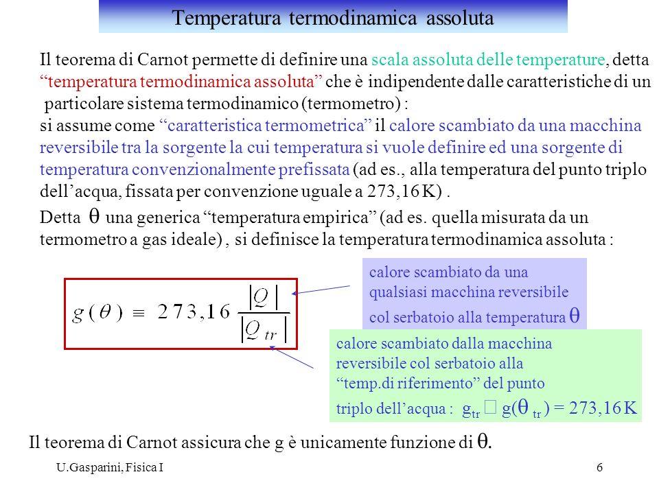 Temperatura termodinamica assoluta