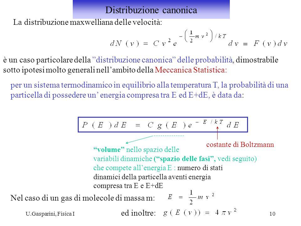Distribuzione canonica