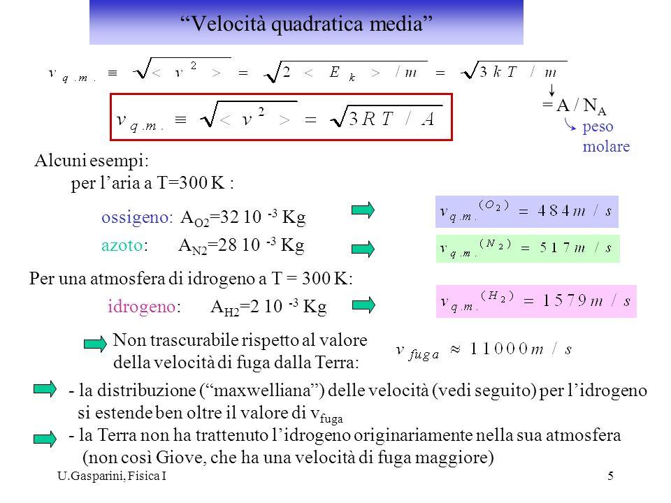Velocità quadratica media