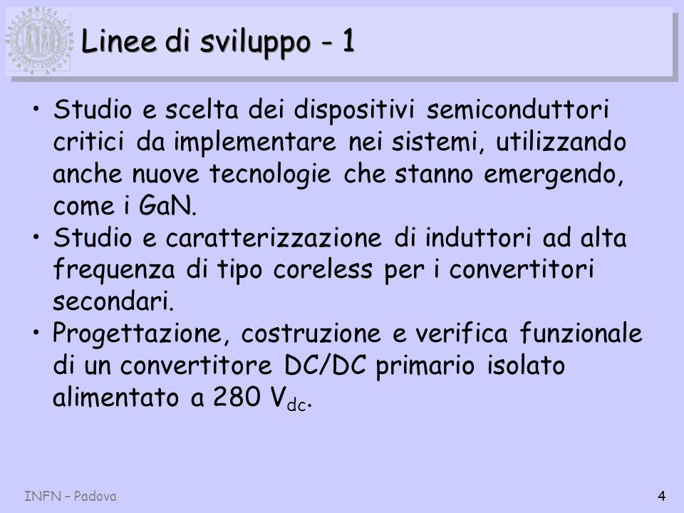 Linee di sviluppo - 1