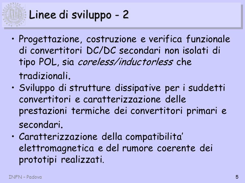 Linee di sviluppo - 2