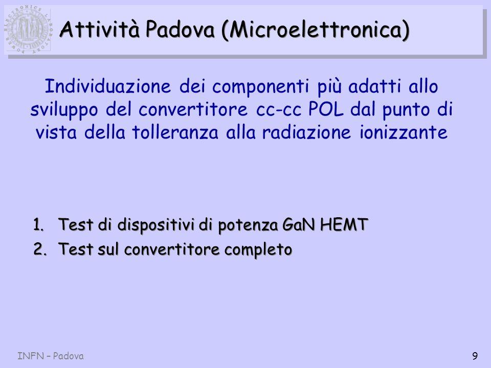 Attività Padova (Microelettronica)