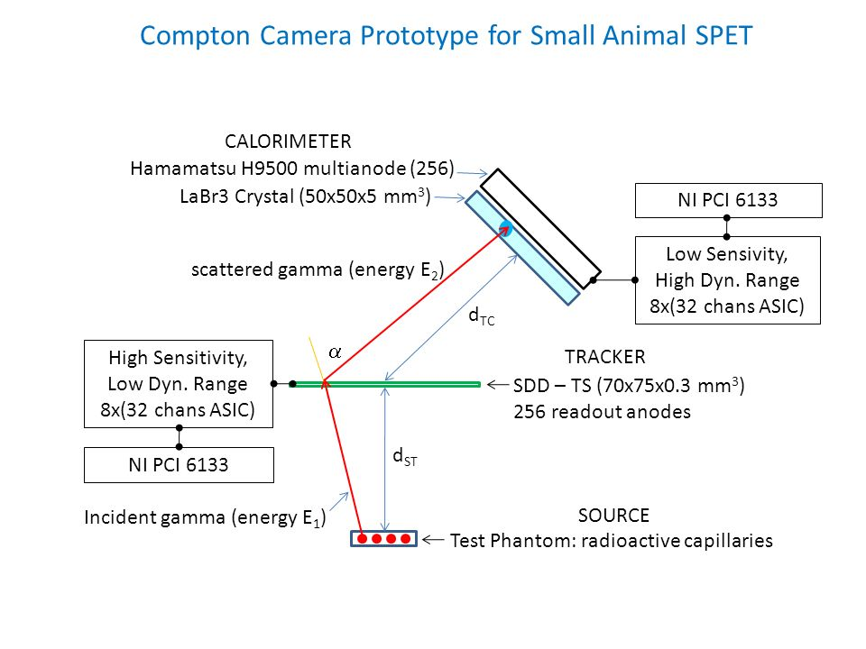 Compton Camera Prototype for Small Animal SPET