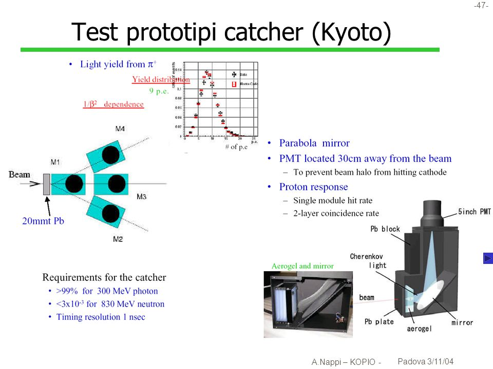 Test prototipi catcher (Kyoto)