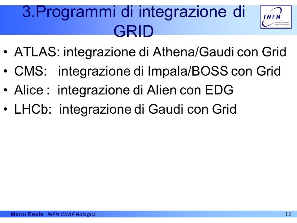 3.Programmi di integrazione di GRID