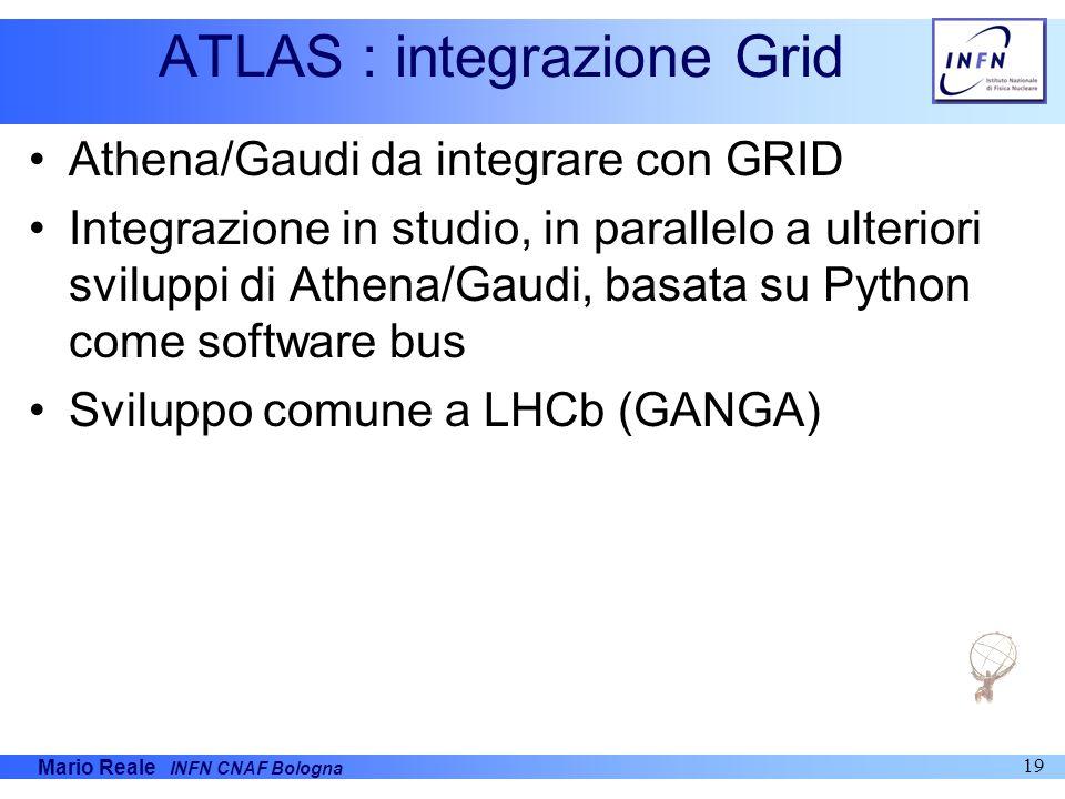 ATLAS : integrazione Grid