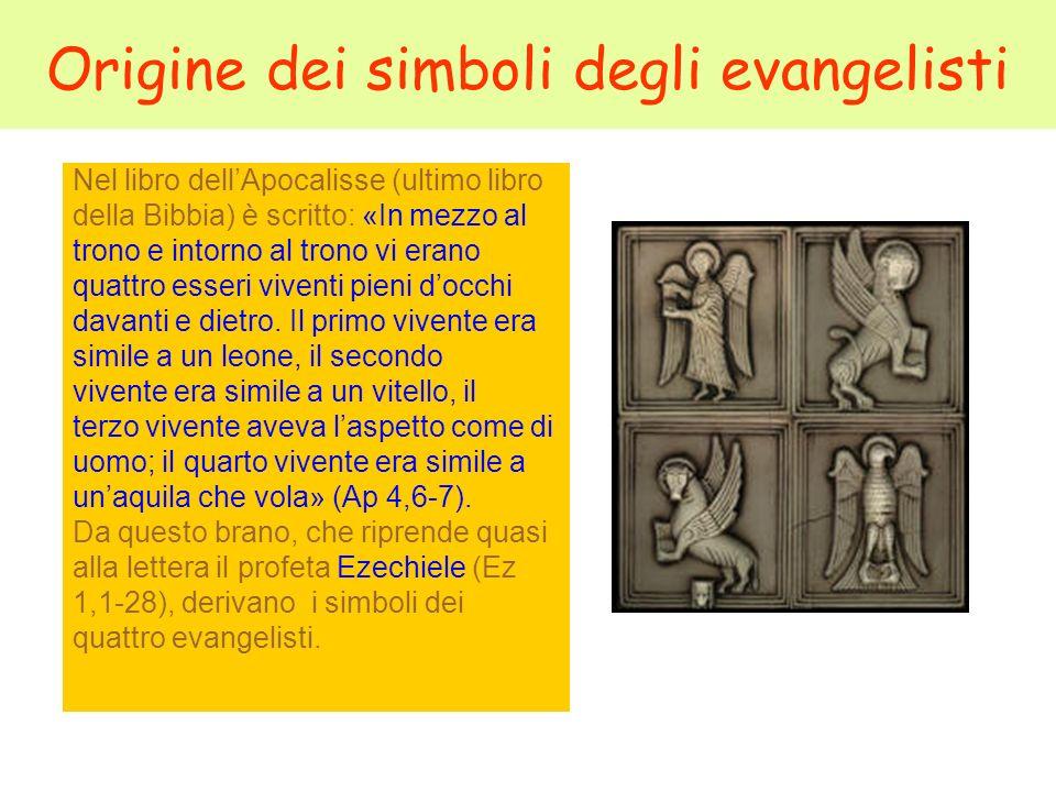 Origine dei simboli degli evangelisti