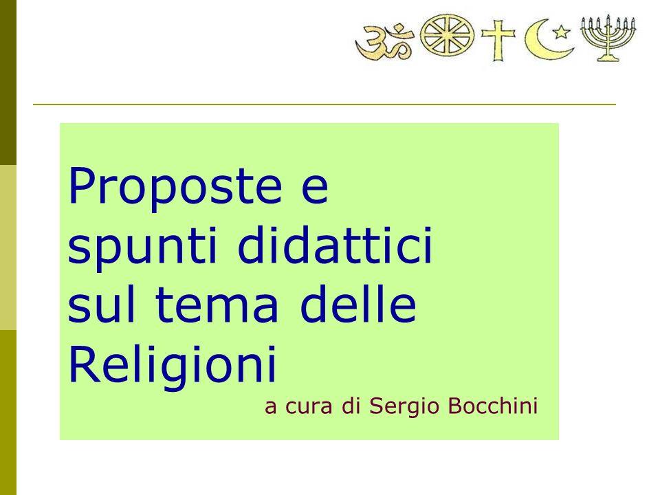 Proposte e spunti didattici sul tema delle Religioni