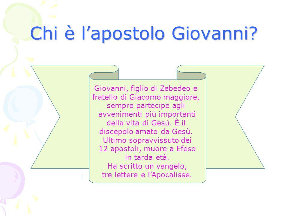Chi è l'apostolo Giovanni