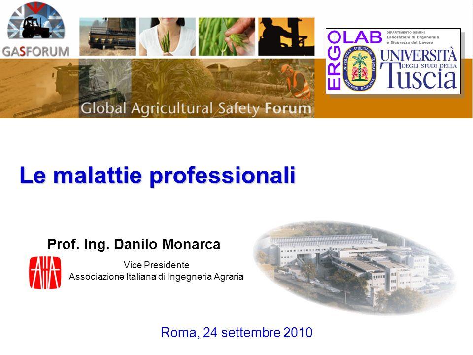 Vice Presidente Associazione Italiana di Ingegneria Agraria